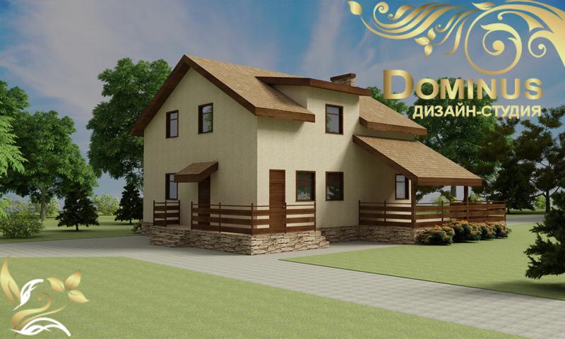 Частный дом в селе Каменка