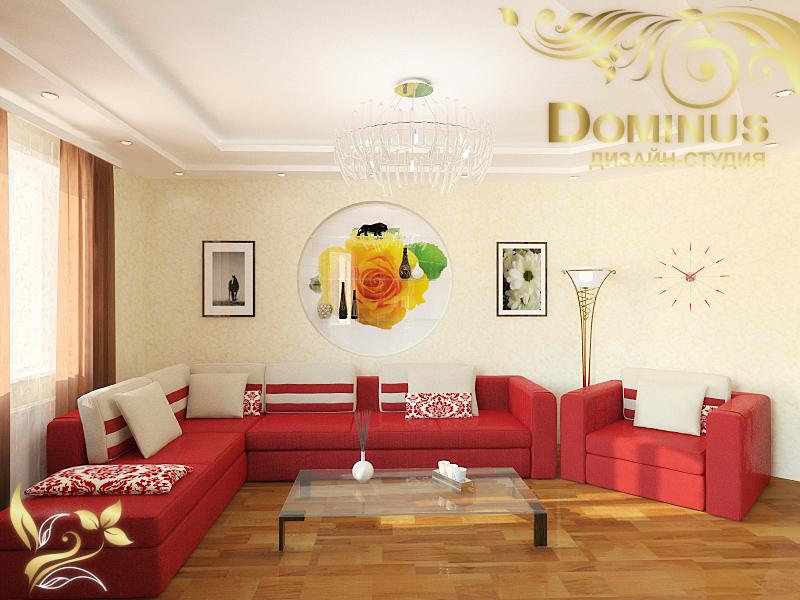 Дизайн-проект квартиры, 92 кв.м.