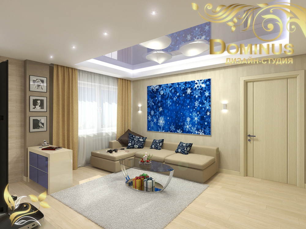 Дизайн проект квартиры, 73 кв.м.