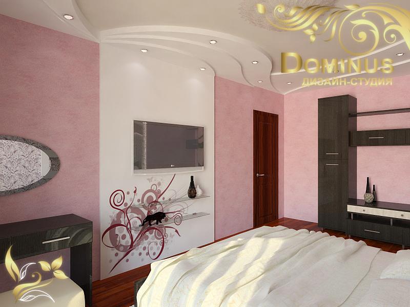 Дизайн интерьера спальня