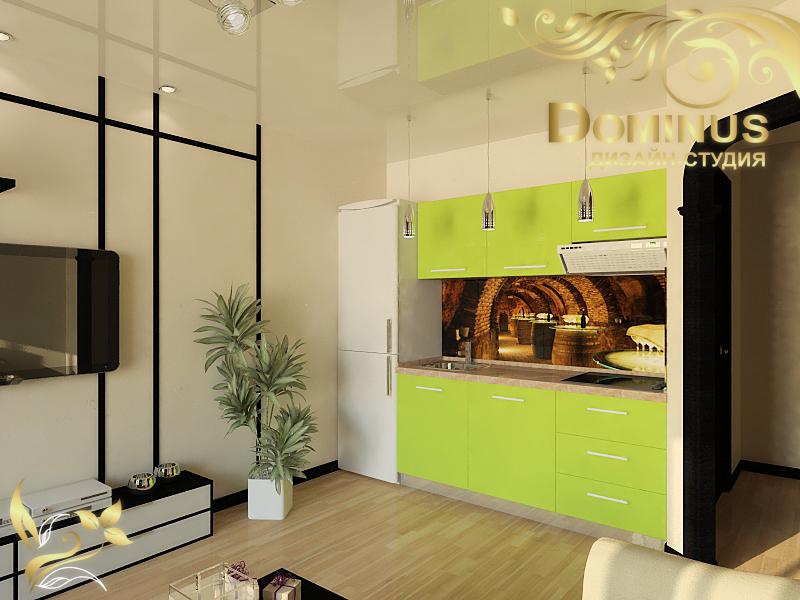 Дизайн комнаты 17 кв.м.