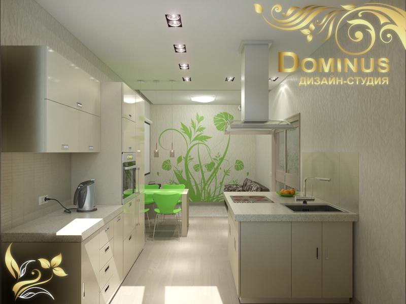 Дизайн-проект квартиры на улице Бердский санаторий 42
