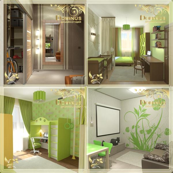 Дизайн квартиры в г. Бердск, по ул. Бердский санаторий 42
