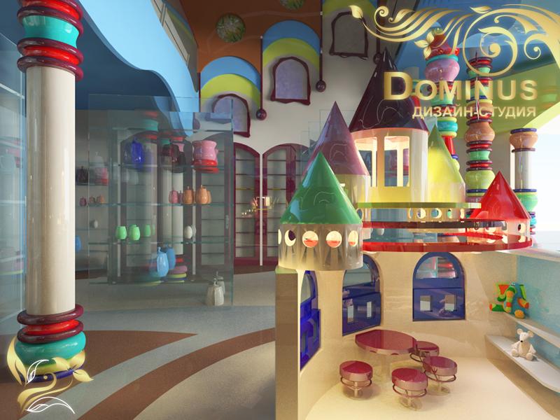 Интерьер магазина игрушек